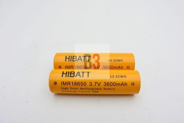 HIBATT 3,6A*h 25A